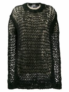 Junya Watanabe double layer jumper - Black