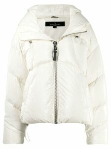 Nicole Benisti Matignon down jacket - White