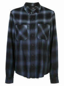 AMIRI plaid shirt - Blue