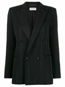 Saint Laurent double-breasted jacket - Black