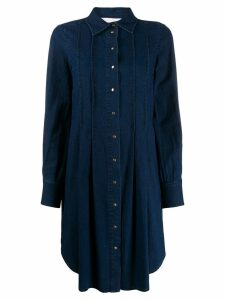 See By Chloé denim collared dress - Blue