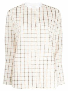 Chloé mandarin collar shirt - White