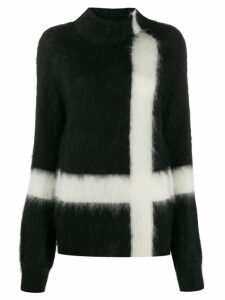 Gianluca Capannolo stripe detail jumper - Black