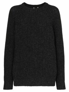 Sunflower chunky knit jumper - Black
