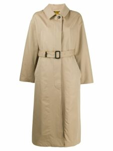 Mackintosh Amulree trench coat - NEUTRALS