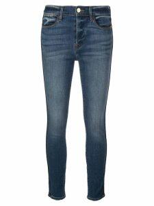 FRAME cropped skinny denim jeans - Blue