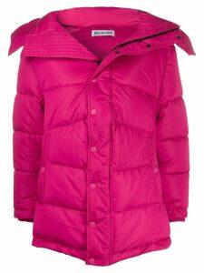 Balenciaga New swing puffer coat - PINK