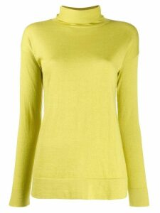 Snobby Sheep turtleneck slim-fit jumper - Green