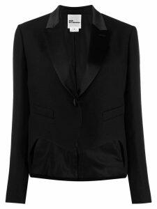 Comme Des Garçons Noir Kei Ninomiya cropped single-breasted blazer -