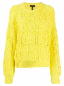 Escada chunky knit jumper - Yellow