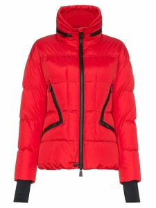 Moncler Grenoble zip-front padded jacket - Red