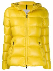 Moncler hooded padded jacket - Yellow