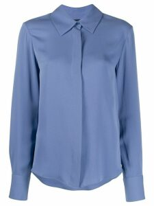 Tom Ford silk button-up blouse - Blue
