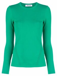 Diane von Furstenberg round neck top - Green