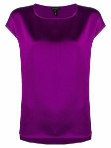 Escada short-sleeved blouse - PURPLE