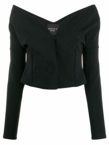A.W.A.K.E. Mode long sleeved blouse - Black