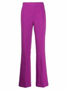 Essentiel Antwerp high waisted bootcut trousers - Pink