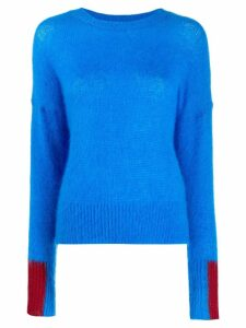 Essentiel Antwerp colourblock panelled jumper - Blue
