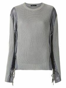 Uma Raquel Davidowicz Tomas knit blouse - Grey