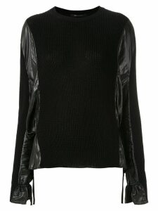 Uma Raquel Davidowicz Tomas knit blouse - Black