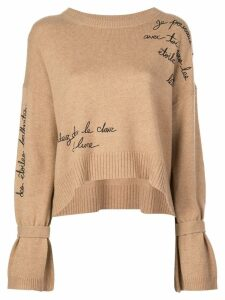 Cinq A Sept Josephine sweatshirt - NEUTRALS