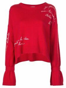 Cinq A Sept Josephine sweatshirt - Red