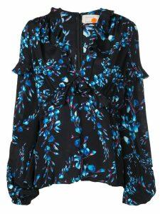 Nicole Miller Blossom blouse - Black