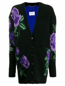 Magda Butrym flower cardigan - Black