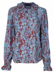 Stine Goya floral print blouse - Blue