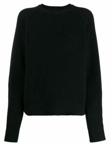Mara Hoffman Avery ribbed crew neck jumper - Black
