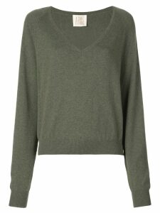 A Shirt Thing V neck jumper - Green