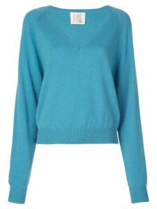 A Shirt Thing V neck jumper - Blue