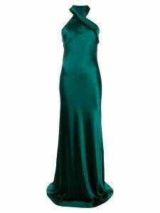 Galvan Pandora gown - Green