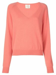 A Shirt Thing V neck jumper - Pink