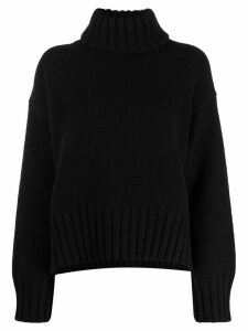 Prada roll neck jumper - Black