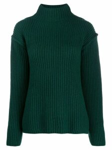 Tory Burch ribbed knit sweater - Green
