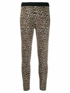 Michael Michael Kors leopard print leggings - NEUTRALS