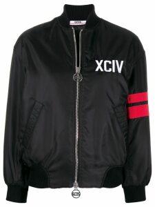 Gcds oversized bomber jacket - Black
