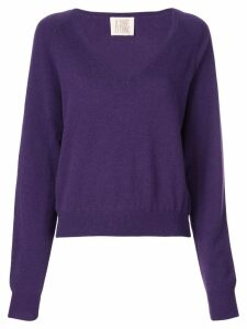 A Shirt Thing V neck jumper - PURPLE