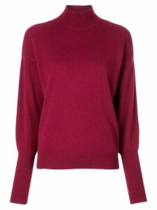 Jonathan Simkhai draped back sweater - Red