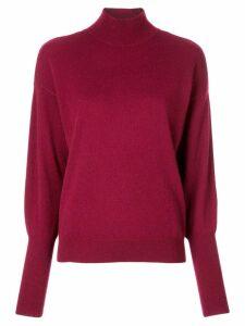 Jonathan Simkhai draped back sweater - Red