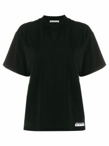 T By Alexander Wang high neck T-shirt - Black