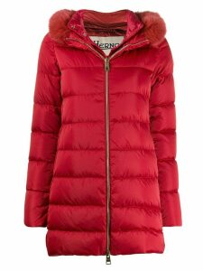Herno padded park coat - Red