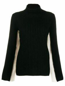 Maison Margiela roll neck sweater - Black