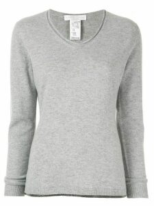 Fabiana Filippi V neck jumper - Grey
