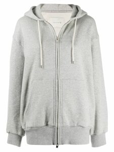 Mackintosh Grey Cotton Hooded Sweatshirt WCS-1001