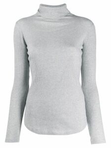 Majestic Filatures roll neck sweatshirt - Grey