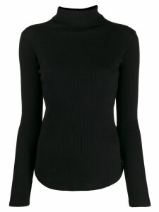 Majestic Filatures roll neck sweatshirt - Black