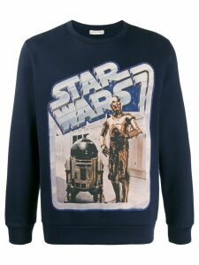 Etro Star Wars print sweatshirt - Blue