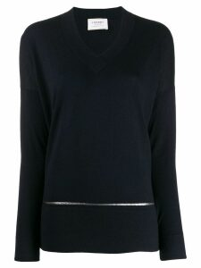 Snobby Sheep sequin lined jumper - Blue